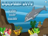 Flash игра Дельфин дайвер / Dolphin Dive